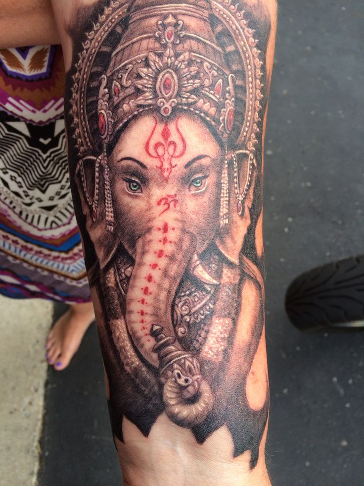 124 best images about ganesh tattoos on pinterest for Ganesh tattoo pictures