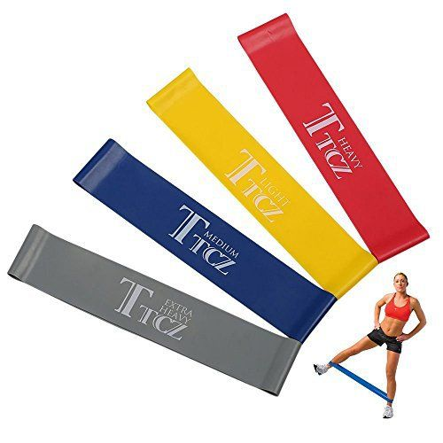 4pcs Resistance Loop Band Exercise Yoga Bands Rubber Fitness Training Strength - http://www.exercisejoy.com/4pcs-resistance-loop-band-exercise-yoga-bands-rubber-fitness-training-strength/fitness/