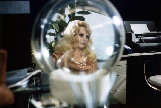 Barbara Valentin, Welt am Draht (World on a Wire), (1973, Germany, dir: Rainer Werner Fassbinder)