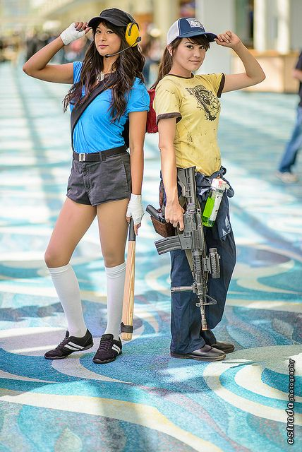 Team Fortress and Left for Dead #Cosplay | Long Beach Comic Expo 2013