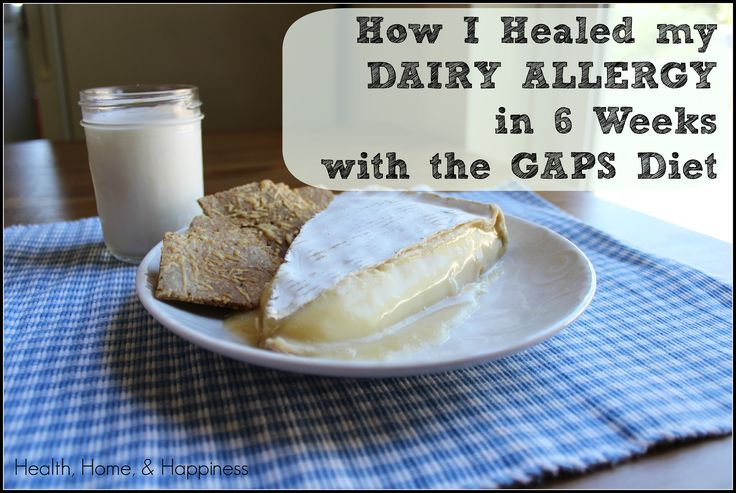 From the author: It's been 2-1/2 years since I did 6 weeks on the GAPS intro, and I still can enjoy as much dairy as I wish.