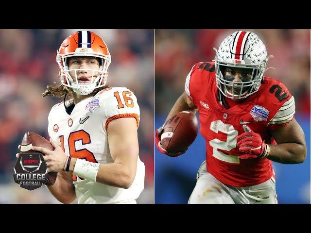 Clemson Ohio State Go Back And Forth In Cfp Semifinal College
