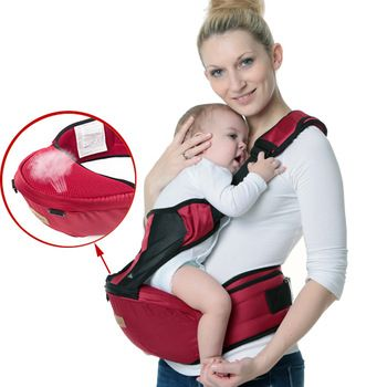 Waist Holding Baby Carrier //Price: $38.99 & FREE Shipping // #kid #kids #baby #babies #fun #cutebaby #babycare #momideas #babyrecipes  #toddler #kidscare #childcarelife #happychild #happybaby