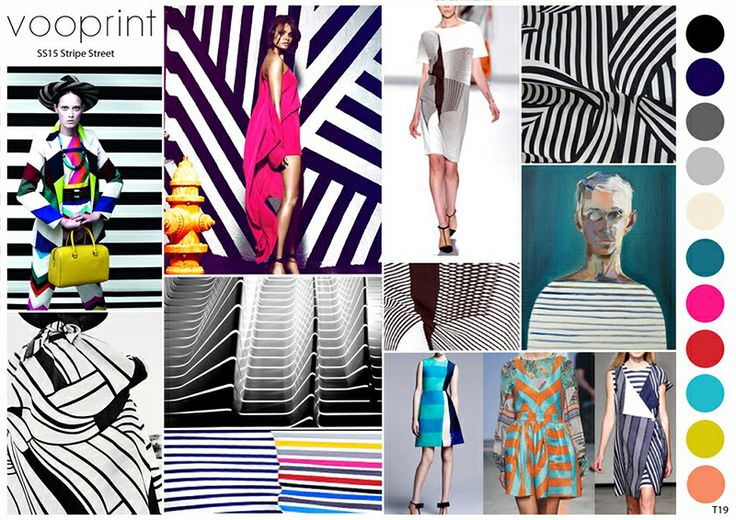 Vooprint Ss 2015 Stripe Street Mood Pinterest Inspiration