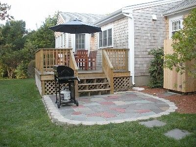 Deck To Patio   Google Search