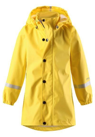 Lasten sadetakki Vatten Yellow