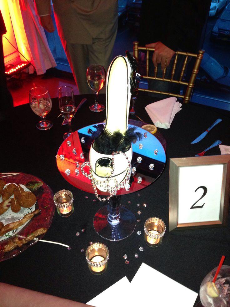 40th birthday centerpiece Party Ideas Pinterest