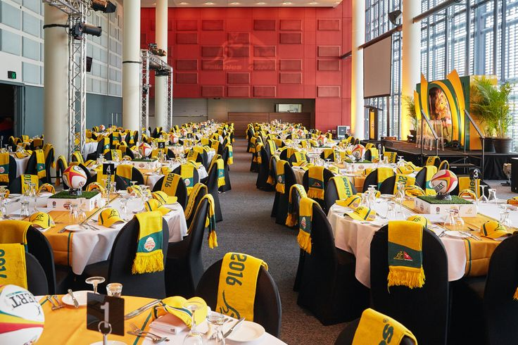 Sporting Event, Stadium Set Up for Australian Wallabies, Suncorp Stadium by Moreton Hire Australia