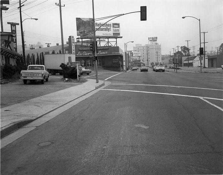 Art Linkletter's La Cienega Bowling Lanes, located at La Cienega and Santa Monica Boulevard