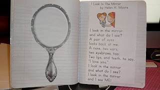 This first grade poetry journal is the cutest!  Awesome!  Kids will LOVE this!!!!