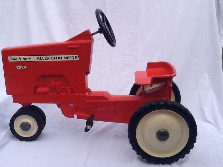 Allis Chalmers Pedal Tractor Decals : Ertl eska allis chalmers pedal tractor home the o