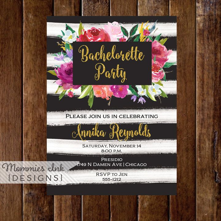 11 best bachelorette party invitations images on Pinterest | Place ...