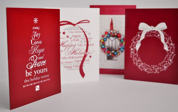 Is October too early to think about your holiday card? Not if you want them designed and ready on time!