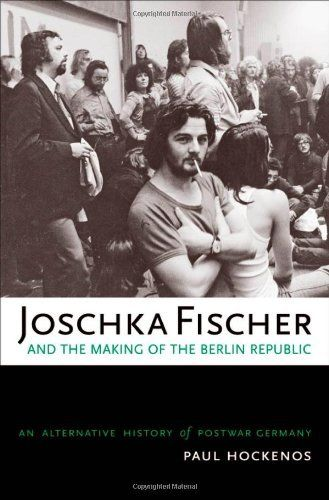Joschka Fischer and the Making of the Berlin Republic: An Alternative History of Postwar Germany by Paul Hockenos, http://www.amazon.com/dp/0195181832/ref=cm_sw_r_pi_dp_fpdYsb14NEGTT
