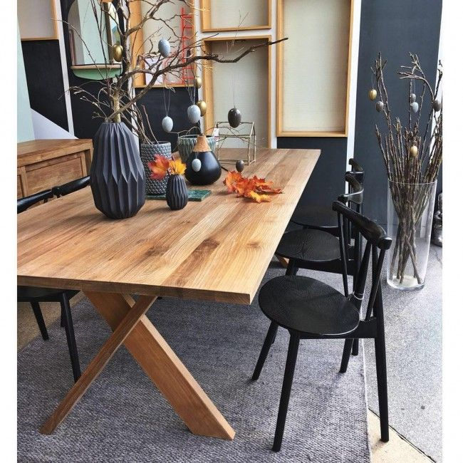 Ethnicraft Oak Pettersson Dining Table - ClickOn $2000