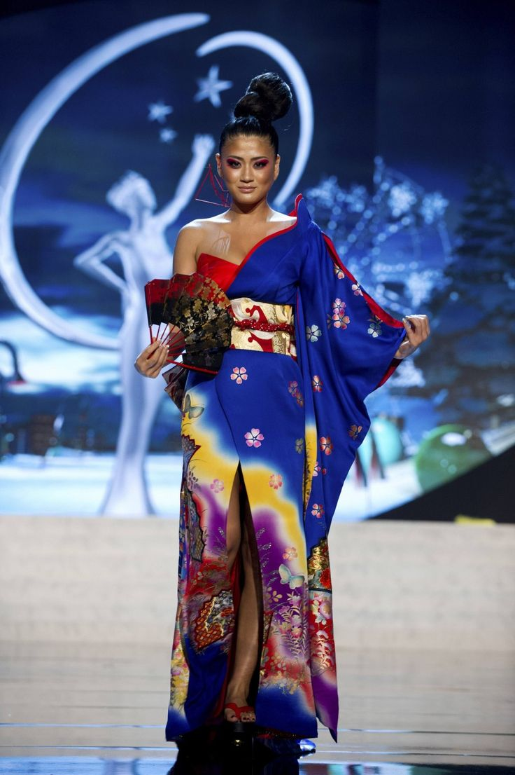 miss japan ayako hara on stage at the 2012 miss universe national costume show at ph - Universe Halloween Costume