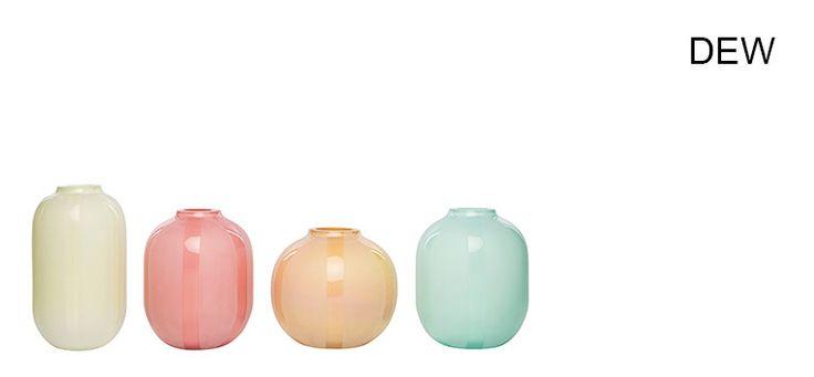 De fine Dew-vasene fra Magnor! Har lyst på alle.