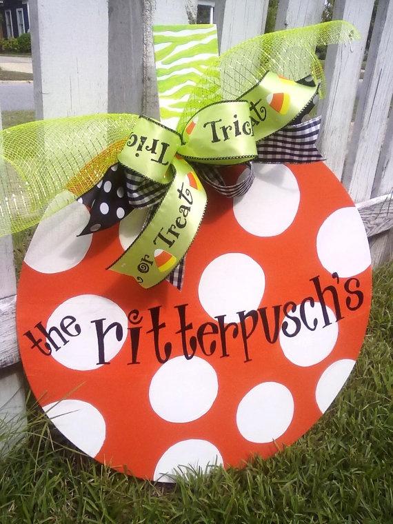 Cute idea for Halloween decorations