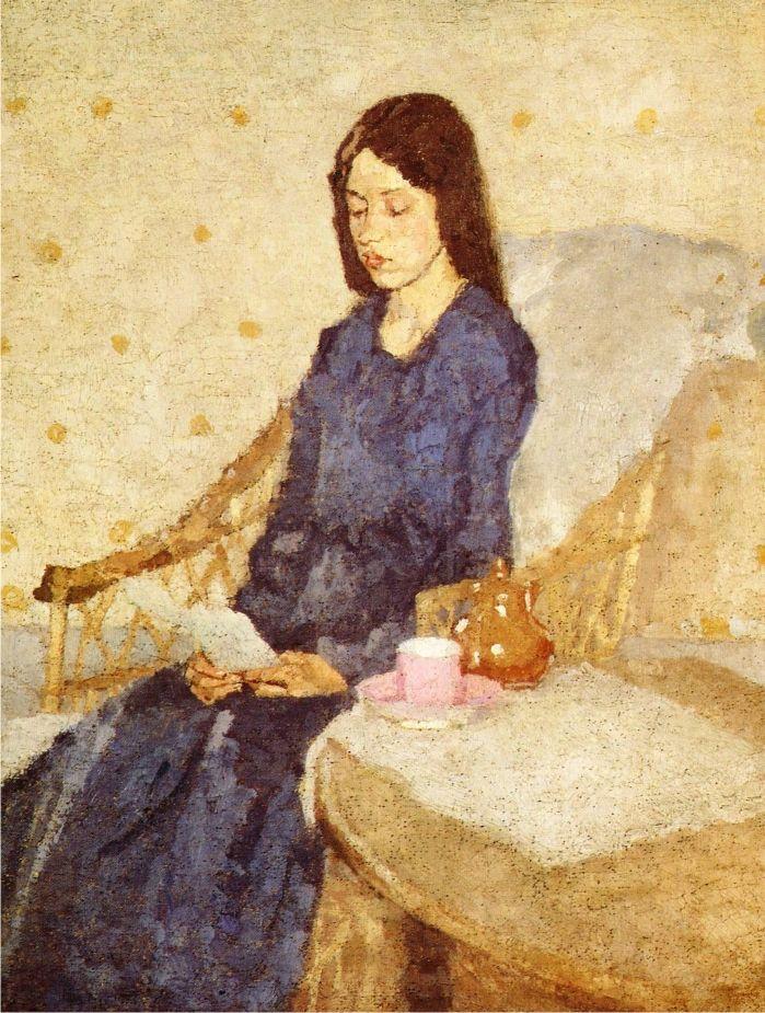 La convaleciente(Gwen John,1923