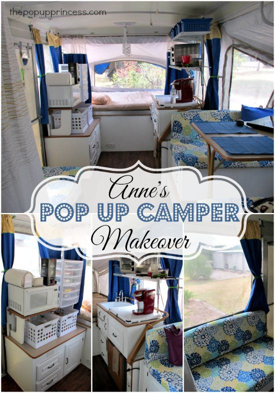 Anne S Pop Up Camper Makeover Pop Up Camper Camper