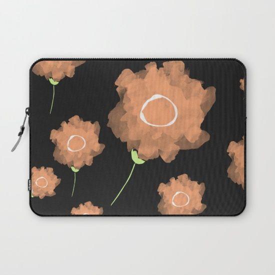 Imaginary Flowers II Laptop Sleeve