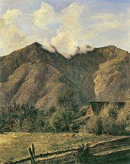 waldmuller, ferdinand georg - Der Zimitzberg bei dem Dorfe Ahorn