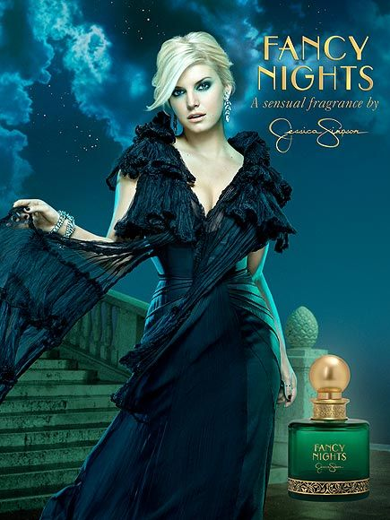 Fancy Nights by Jessica Simpson, print ad