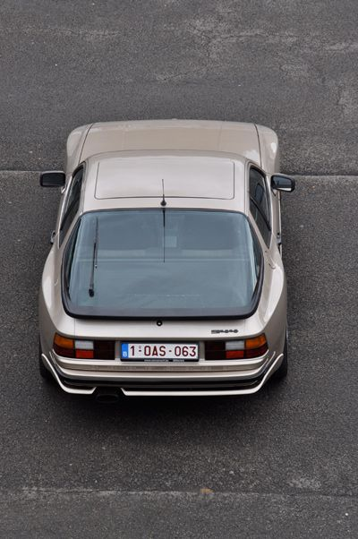 Porsche 944 1982...it was those magnificent curves that sold it to me!!
