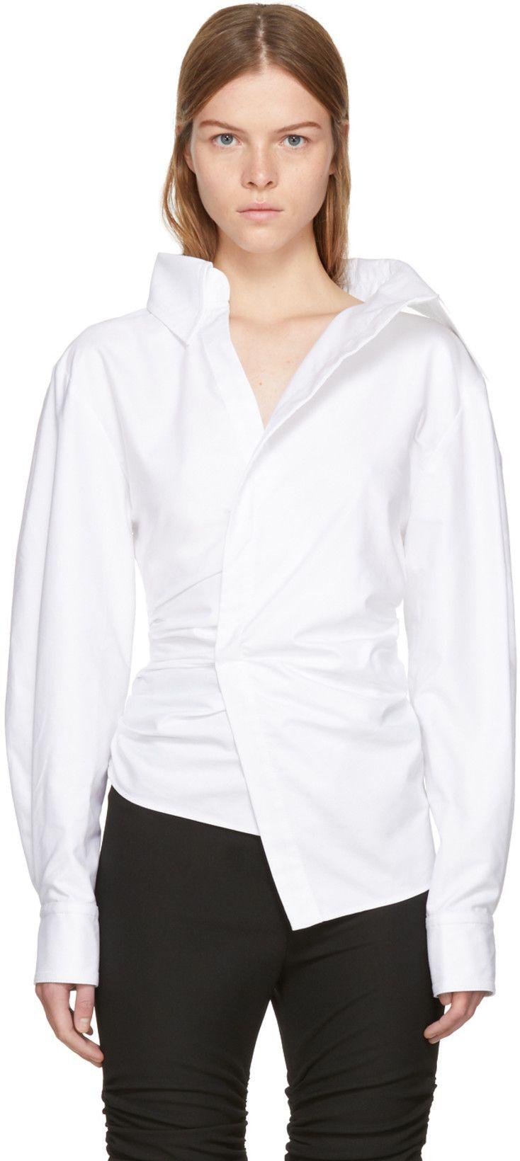 2a8ef54a180 Jacquemus - White  La Chemise Elie  Shirt