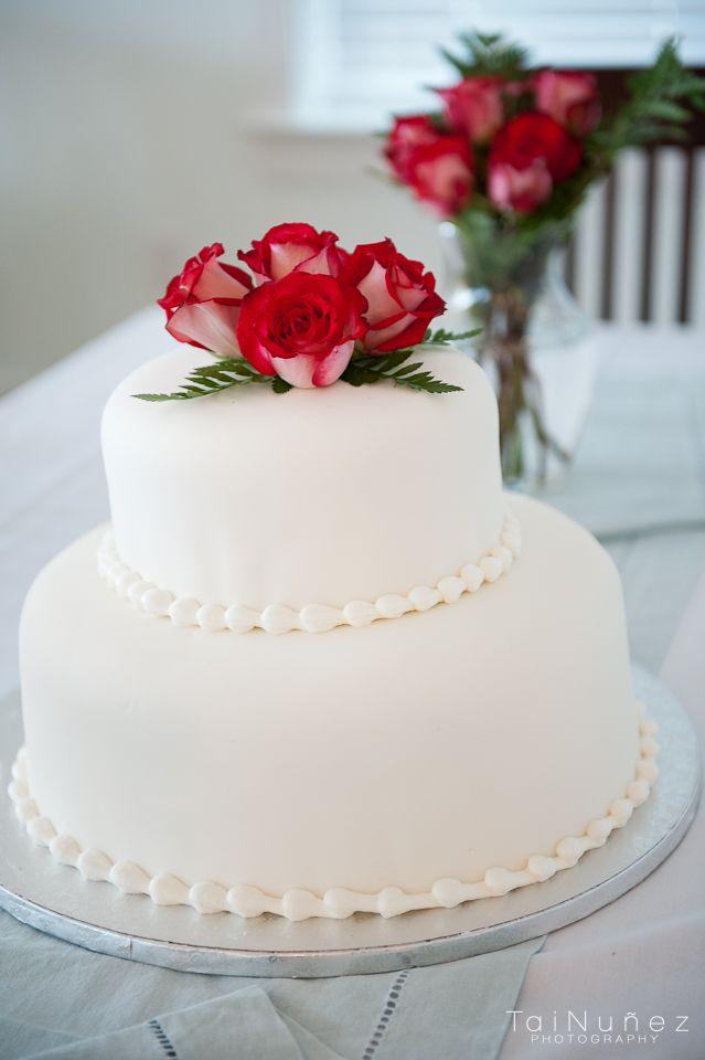 Publix Wedding Cake - They did an amazing job.