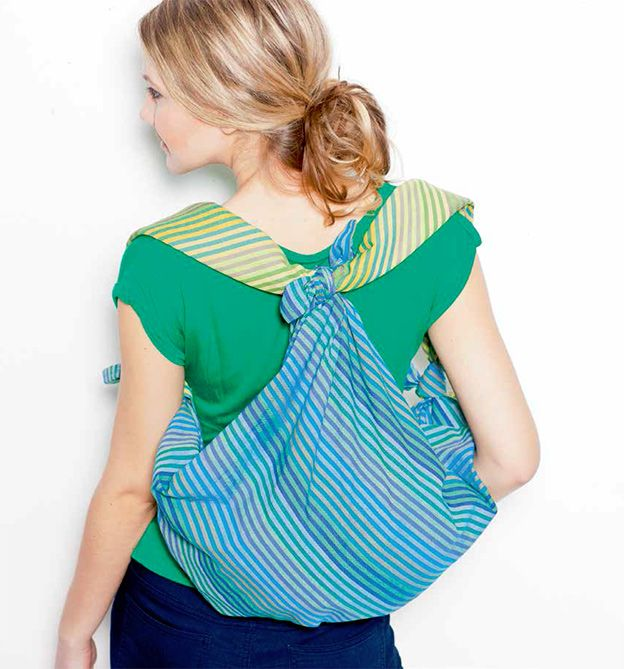 Furoshiki-Taschen ohne Nadel und Faden, Schicke Taschen – einfach gefaltet und gewickelt