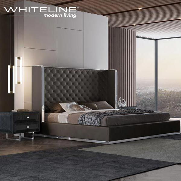 The Abrazo California King Bed Is A Sophisticated Top Of The Line