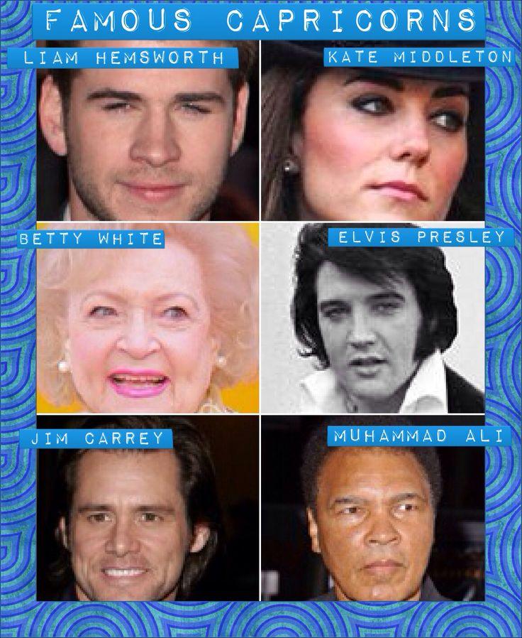 What celebrity are capricorns