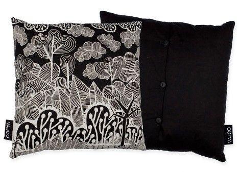 Pillow Secret garden / designed by Eva Hanzalová / 20,- € / www.vajco.cz