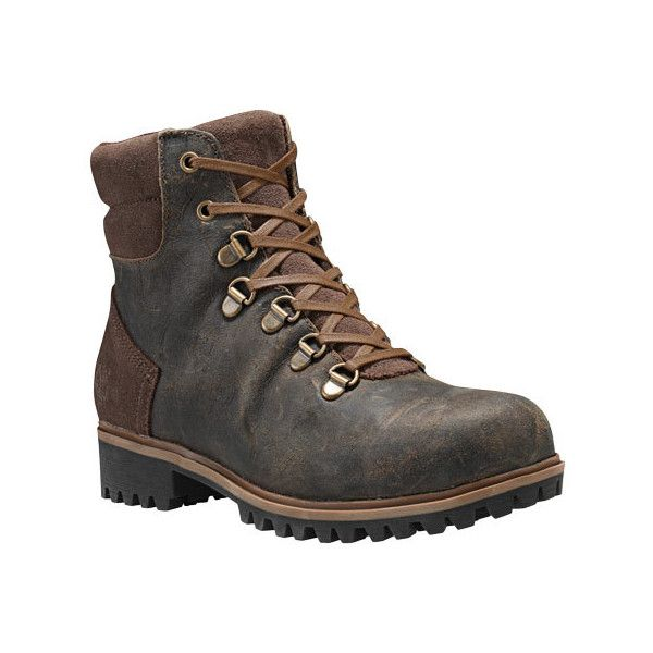 Women's Timberland Wheelwright Waterproof Hiking Boot - Canteen... ($180) ❤ liked on Polyvore featuring shoes, boots, casual, waterproof boots, timberland boots, water proof boots, timberland shoes, suede shoes and stretch suede boots