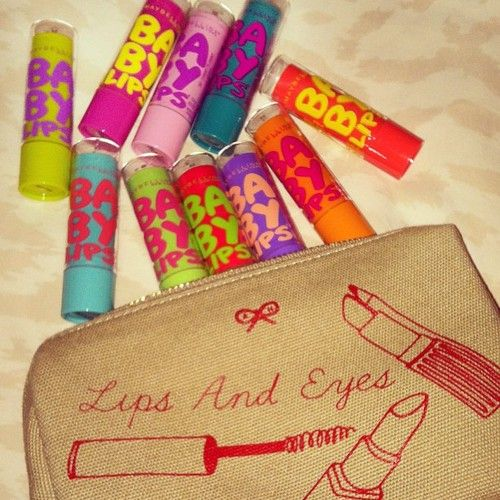 Baby Lips on the ready.