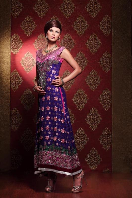 Neha Ahmed Bilal Bridal Dresses Collection 2012