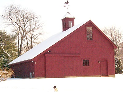 Saltbox garage shop building pinterest shape and love for Barn shaped garage