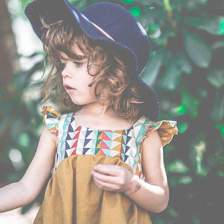 Girls Handmade Bohemian Dress   SillyMeBaby on Etsy