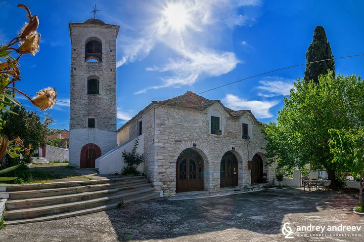 The church in Theologos village, Thassos island. Greece - Andrey Andreev Travel and Photography