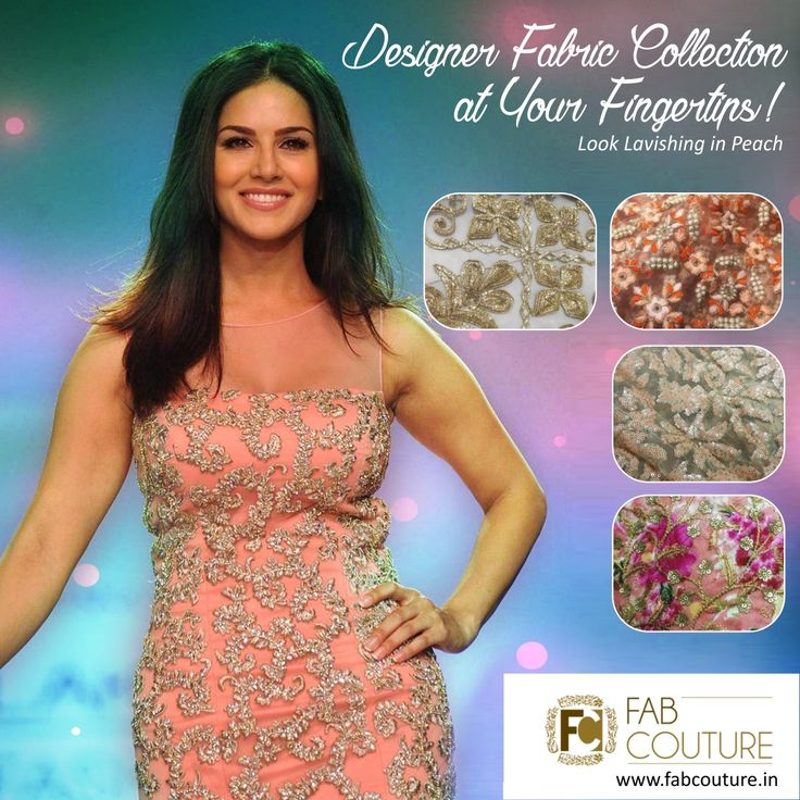 Look Lavishing in Peach! Find #DesignerFabric #Collection at your fingertips at #FabCouture! at #AffordablePrices.  Buy your stock of fabric from:https://fabcouture.in/embroidered-indian-fabrics.html #DesignerDresses #Fabric #Fashion #DesignerWear #ModernWomen #Embroidered #WeddingFashion #WesternLook #affordablefashion #GreatDesignsStartwithGreatFabrics #LightnBrightColors #StandApartfromtheCrowd #EmbroideredFabrics