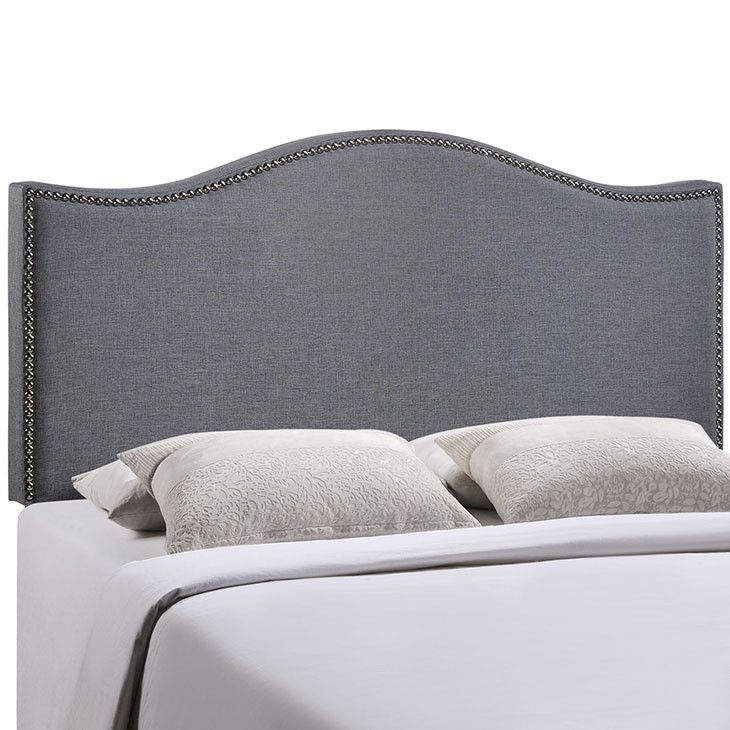 Modway Furniture Modern Curl Queen Nailhead Upholstered Headboard #design #homedesign #modern #modernfurniture #design4u #interiordesign #interiordesigner #furniture #furnituredesign #minimalism #minimal #minimalfurniture