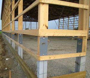 Pole Barn Foundation Buscar Con Google Frames Ceiling