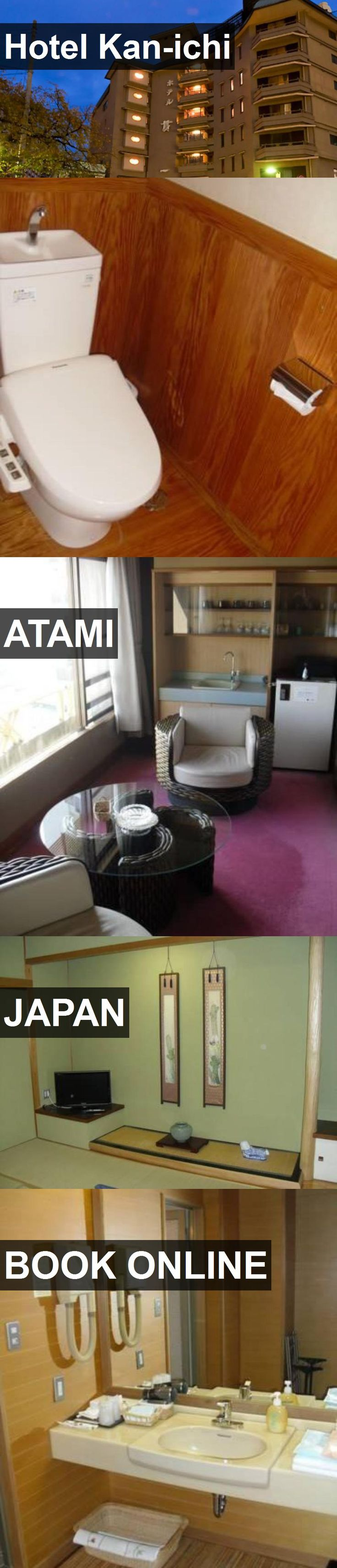 Hotel Kan-ichi in Atami, Japan. For more information, photos, reviews and best prices please follow the link. #Japan #Atami #travel #vacation #hotel