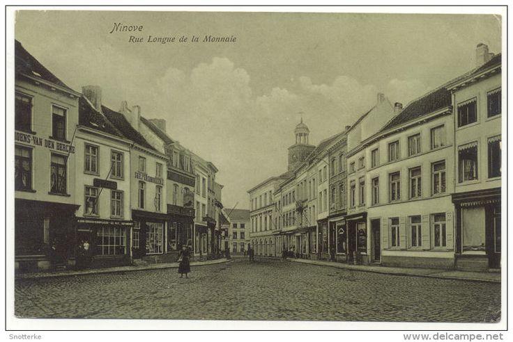 Ninove Rue Lonque De La Monnaie Lange muntstraat