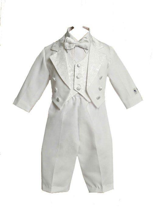 Amazon.com: Juaquin Baptism Tuxedo with Jacket, Pants, Shirt, Tie and Cumberbund: Clothing