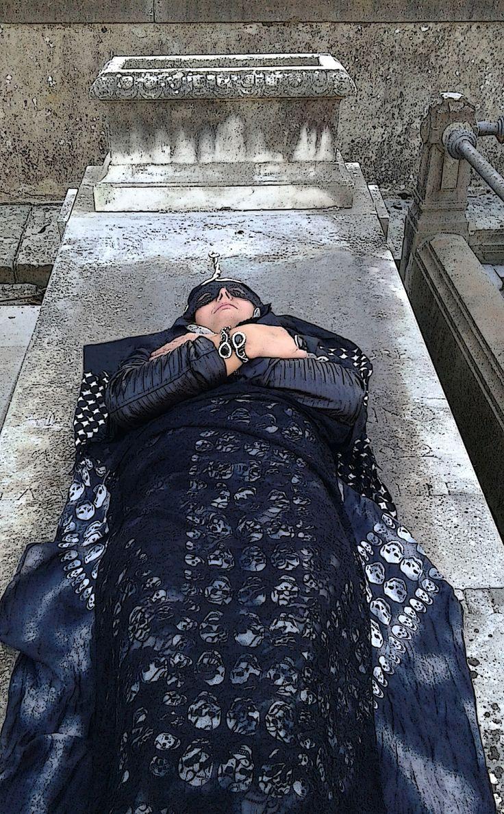 La mummia della principessa Roxandria d'Egitto.  https://www.facebook.com/pt.racconti.cimitero