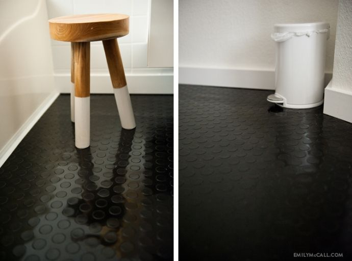 47 best rubber flooring images on pinterest rubber - Rubber flooring for kitchens and bathrooms ...