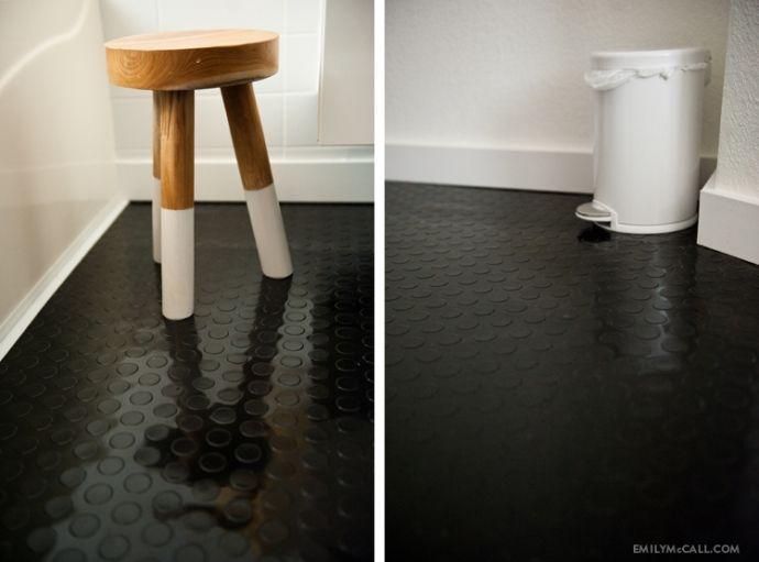 ... Rubber Flooring. on Pinterest  Contemporary bathrooms, Kitchen floors