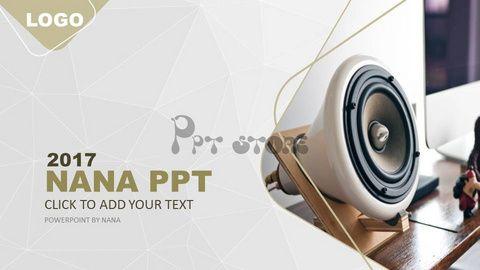 【高端大气欧美商务风52——图文混排总结策划汇报通用PPT模板】-PPTSTORE